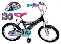 "foto Bicicleta 16"" Monster High"