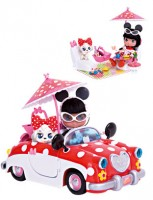 foto I love Minnie coche picnic