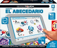 foto Educa Touch junior aprendo el abecedario