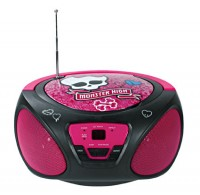 foto Radio Cd Boombox Monster High