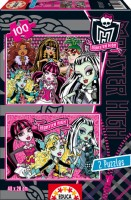 foto Puzzle 2x100 Monster High